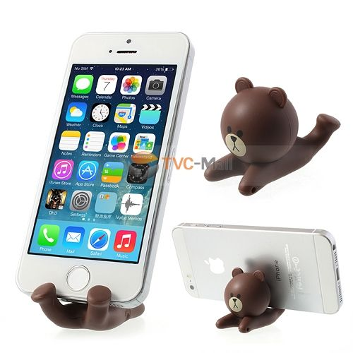 Cartoon Bear Phone Stand Holder for iPhone Samsung Sony Mobile Phones