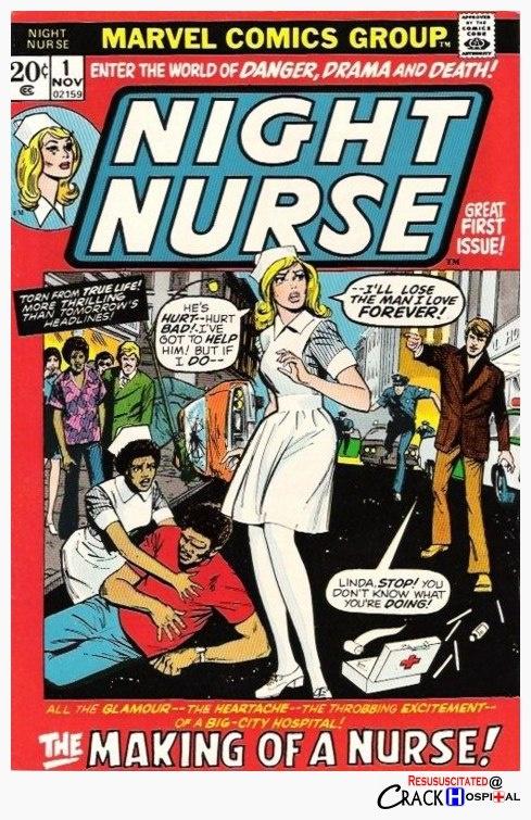 Night #Nurse #comic book