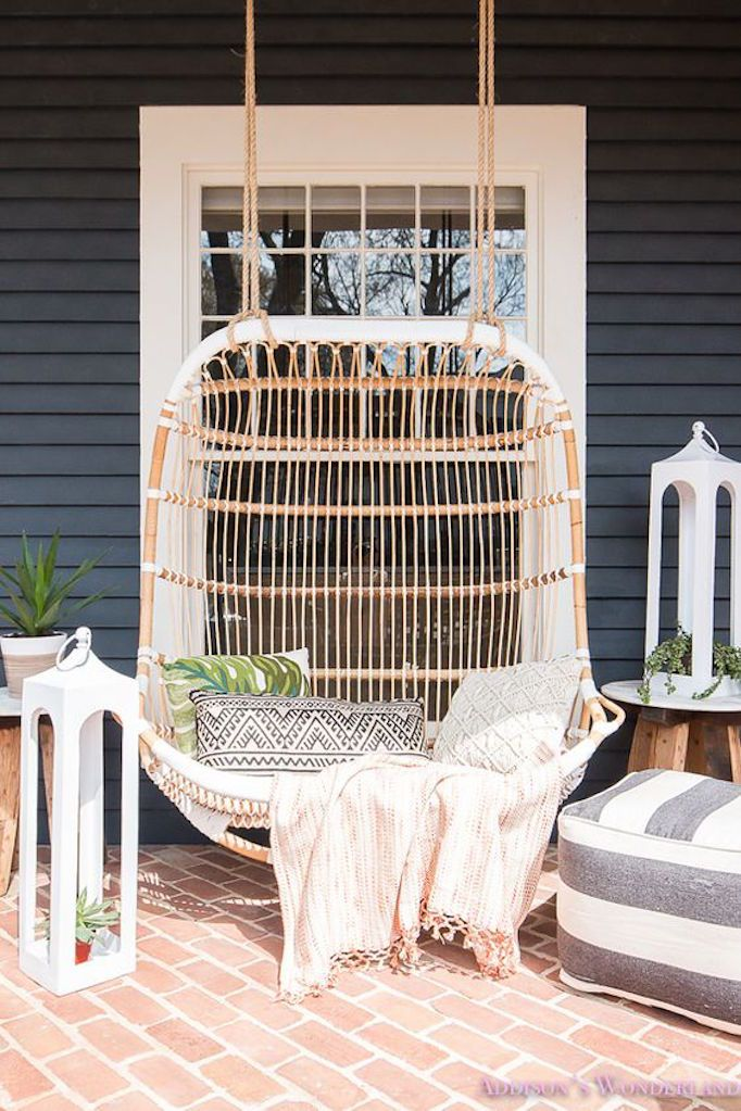 BECKI OWENS- 7 Ways to Spruce your Stoop. Up your curb appeal with these easy and affordable updates before summer guests arrive.