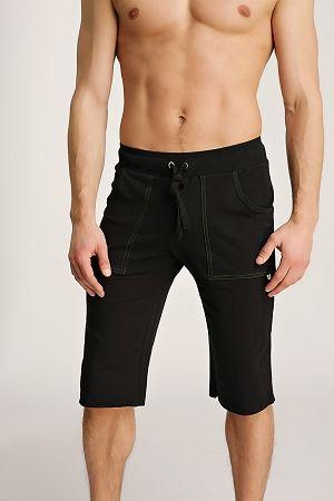 Mens Organic Yoga Shorts by 4-rth