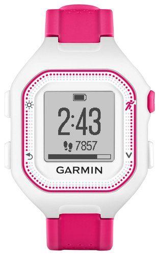 Tracker Rosa Garmin Gps Uhr 25 Und Aktivitäts Forerunner Weiß OPuXkiTwZ