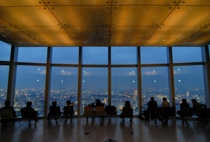 54th Floor, Mori Tower in Roppongi Hills