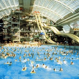 West Edmonton Mall. The BEST waterpark hands down. Spent the majority of my summers here. as
