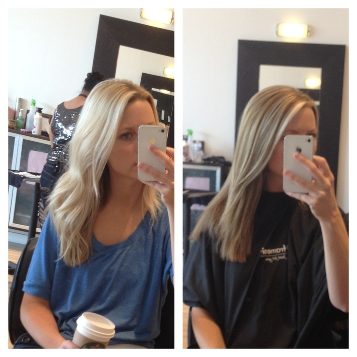 Blonde to bronde for fall :)