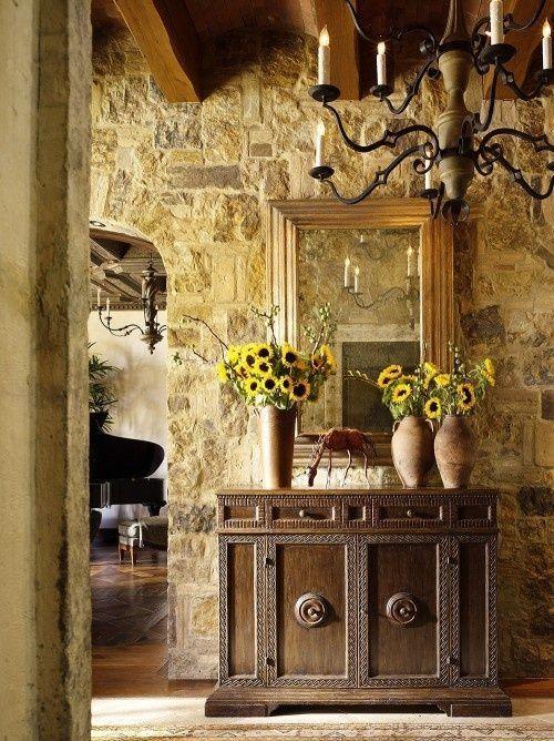tuscan style decorating COUNTRY VILLA DECOR Tuscan Style Decor