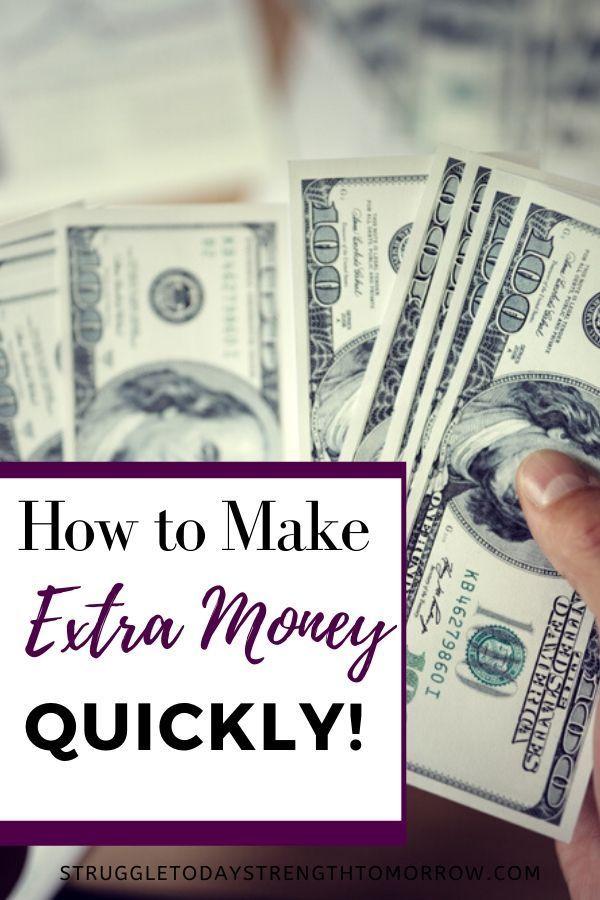 11 Ways To Make Extra Money This Week Struggle Today Strength Tomorrow Extra Money Financial Motivation Money