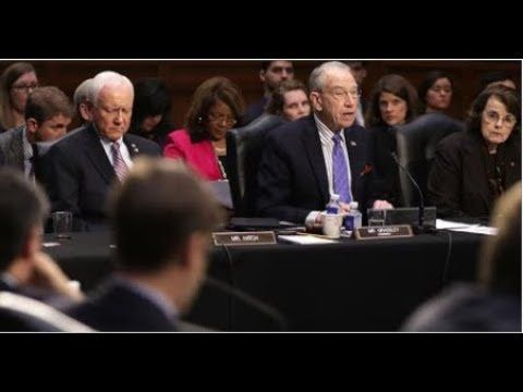 LOOK WHO CANCELED HIS TESTIMONY BEFORE THE SENATE! WHAT IS HE HIDING! - YouTube
