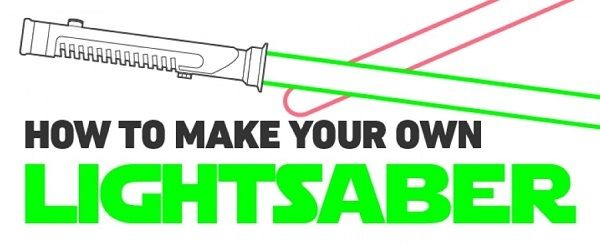A DIY guide for building your own lightsaber is probably among the most sought after things, if you're a geek. Don't despair, though, as your dream has just come true!