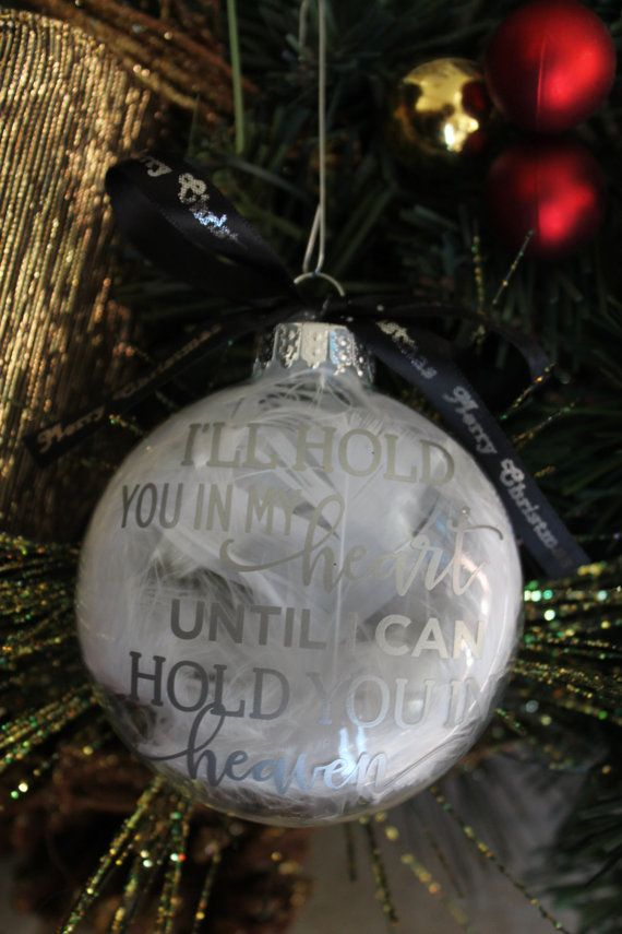 Memorial Ornament, Christmas Ornament, Christmas Memorial, Heaven Ornament, Custom Made Christmas Ornament, In Loving Memory, Christmas Gift by amysbubblingboutique. Explore more products on http://amysbubblingboutique.etsy.com