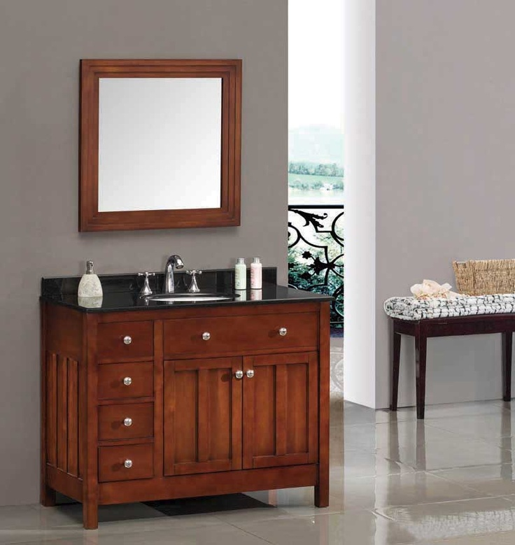 cherry bathroom vanity cabinets 1000 images about single bathroom vanities on 13486