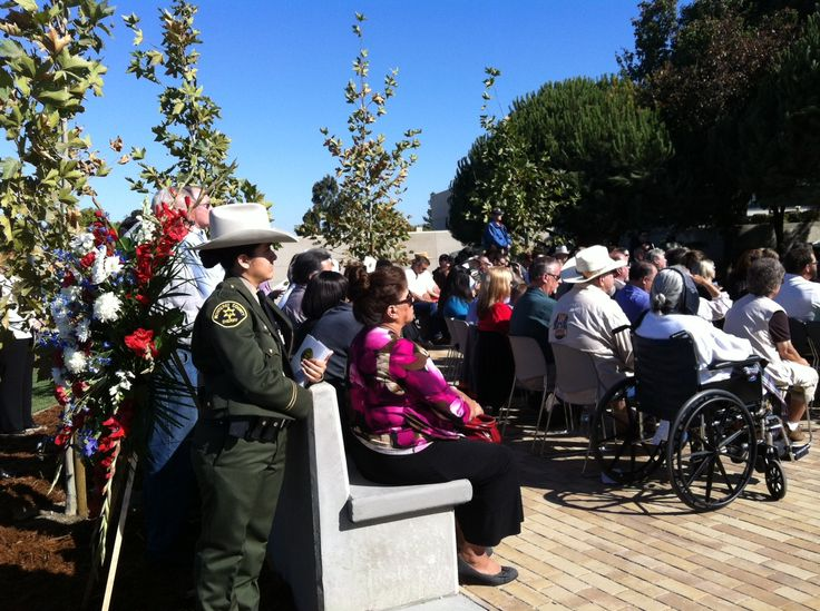 Monterey County Sheriff's memorial officially dedicated Friday | Local News - Central Coast News KION/KCBA