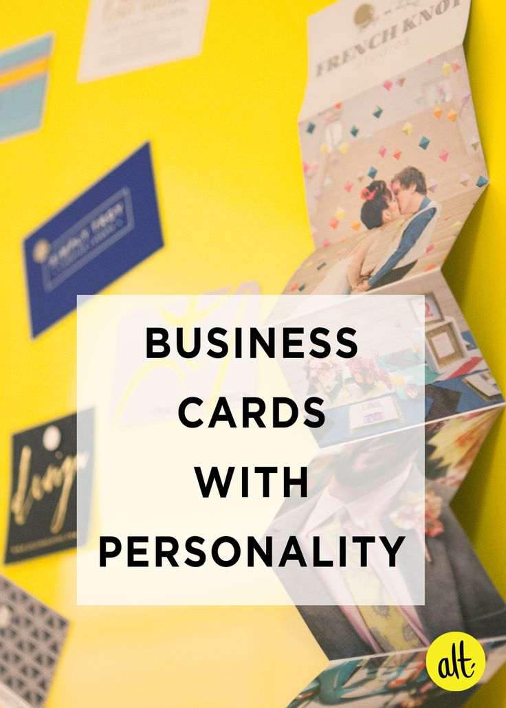 Round up of memorable business cards. All had one characteristic that made them stand out: they captured the personality of the person handing them out.