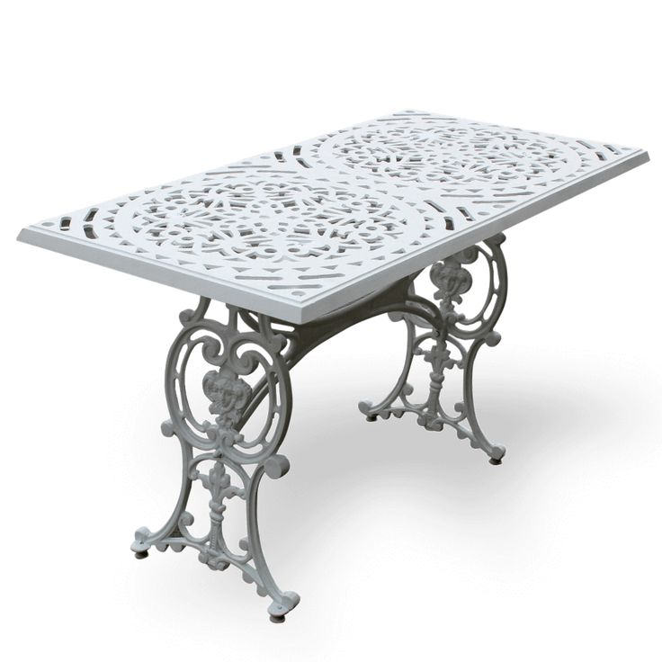 Dış mekan için Metal döküm masa sandalyeler:  1021