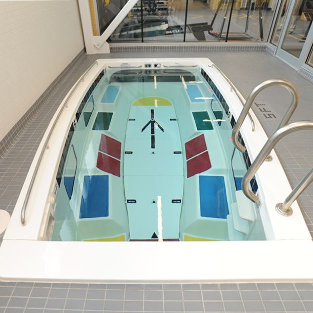 Spa Pool For Exercise Swimming And Relaxation At Home Hydrotherapy Pool Indoor Pool Design Therapy Pools
