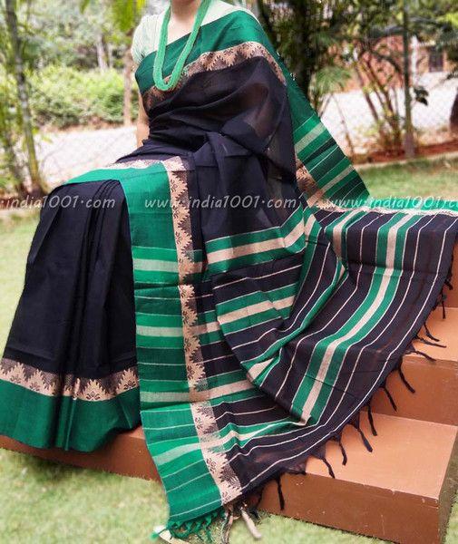 Elegant Woven Cotton Saree