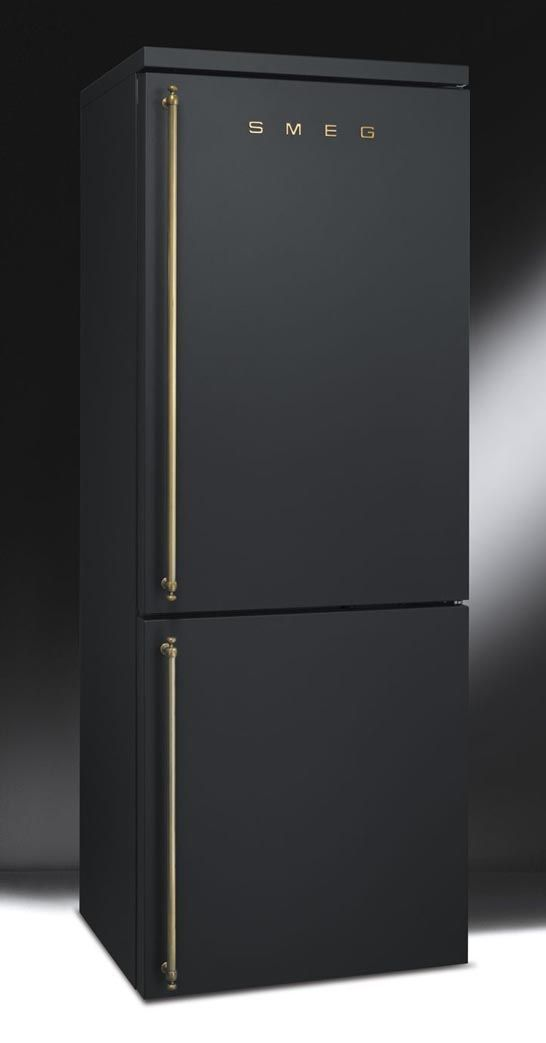 Matte black fridge | Smeg...In my dream kitchen,