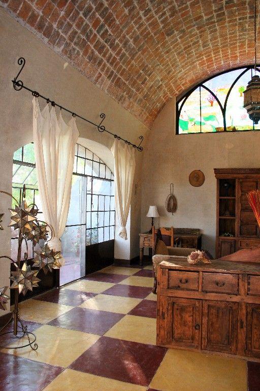 Mexican decor: Hacienda Las Trancas.: