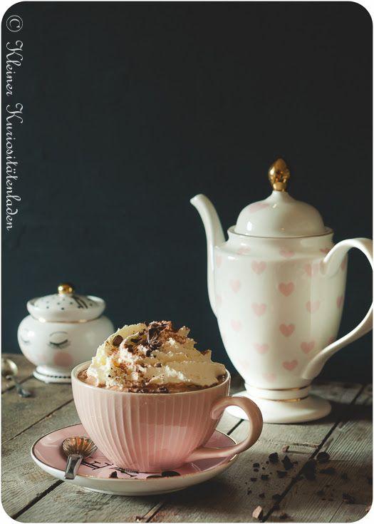 Heiße Schokolade mit Espresso