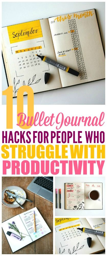These Bullet Journal Hacks are THE BEST! I'm so glad I found these GREAT Bullet Journal ideas! Now I have some great ways to get more organized with my bullet journal layout and week! #bulletjournal #bulletjournaladdict #bulletjournaling #bulletjournaljunkies