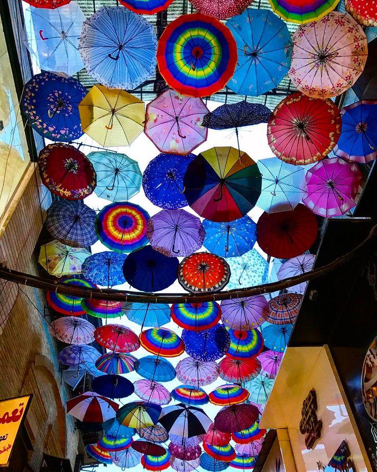 Art installation in the bazaars of Shiraz  #art #farsprovince #iran #visitiran #shiraz