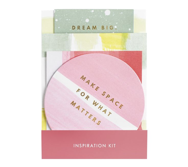 Bring your dreams to life by adding this pretty Inspiration Kit to your Vision…