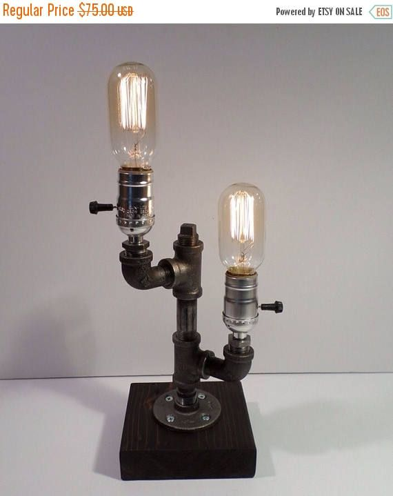 Les 25 meilleures id es de la cat gorie lampe en tuyau sur for Lampe de chevet industriel