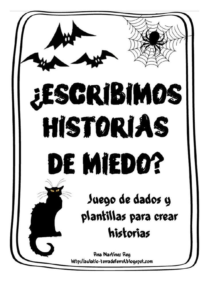 I'm reading Cuentos de Miedo on Scribd