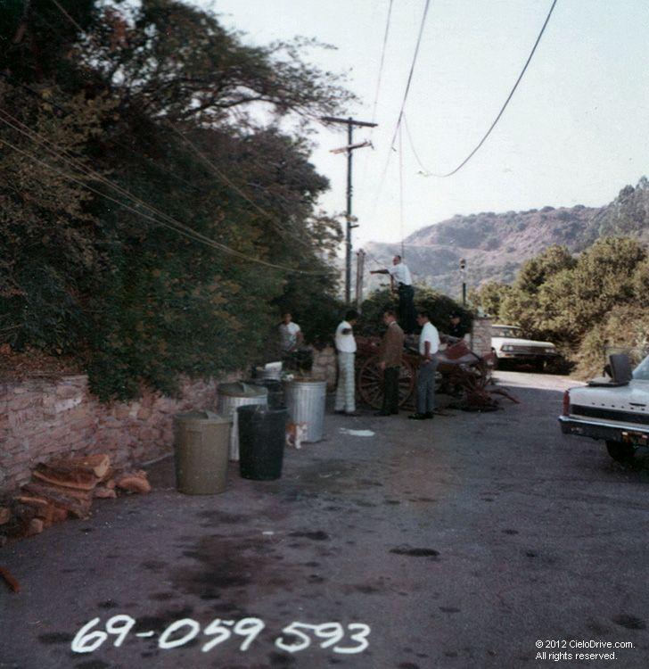 Cielo Drive Crime Scene Today