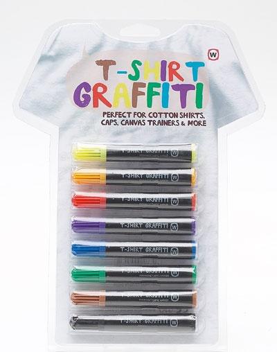 Party Supplies: T-shirt graffiti pens