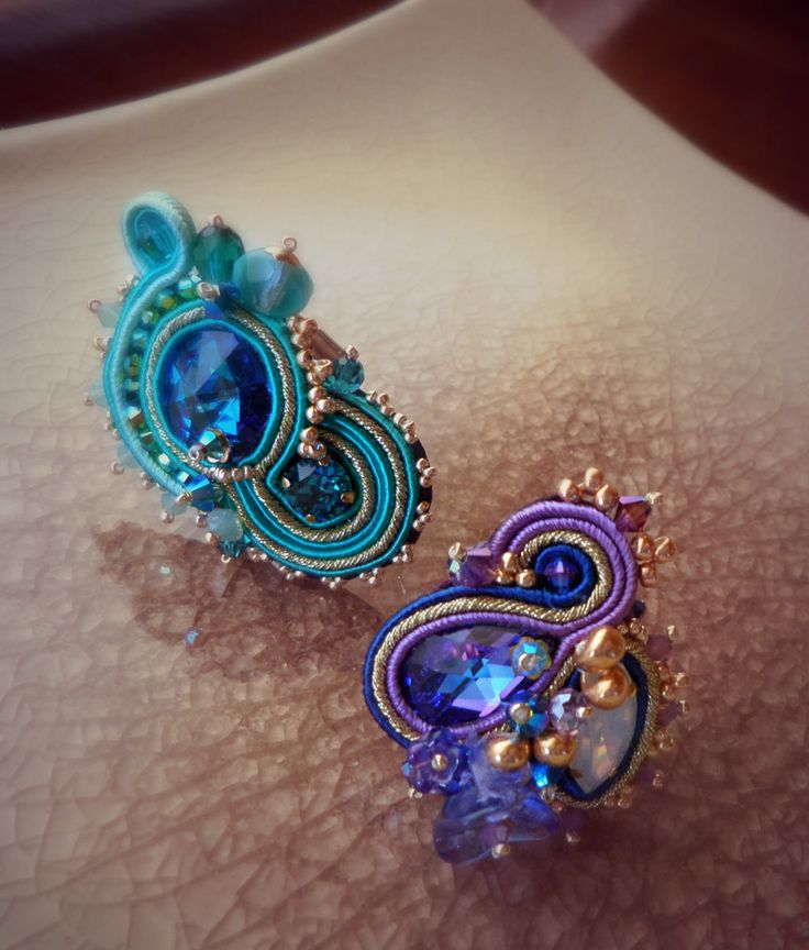 Serena Di Mercione Creation soutache rings