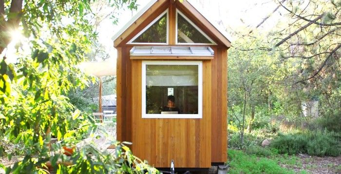 This Woman's Dream Home Is Completely Off The Grid And Only 140 Sq. Ft.