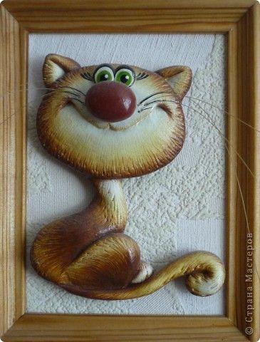 Картина панно рисунок Лепка Тестопластика Тесто соленое фото 1