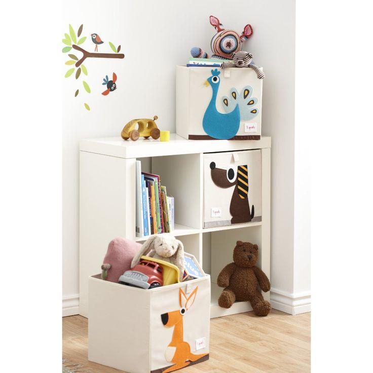Порядок в доме с коробками для хранения #3sprouts #abumba #дизайн #детская #интерьер