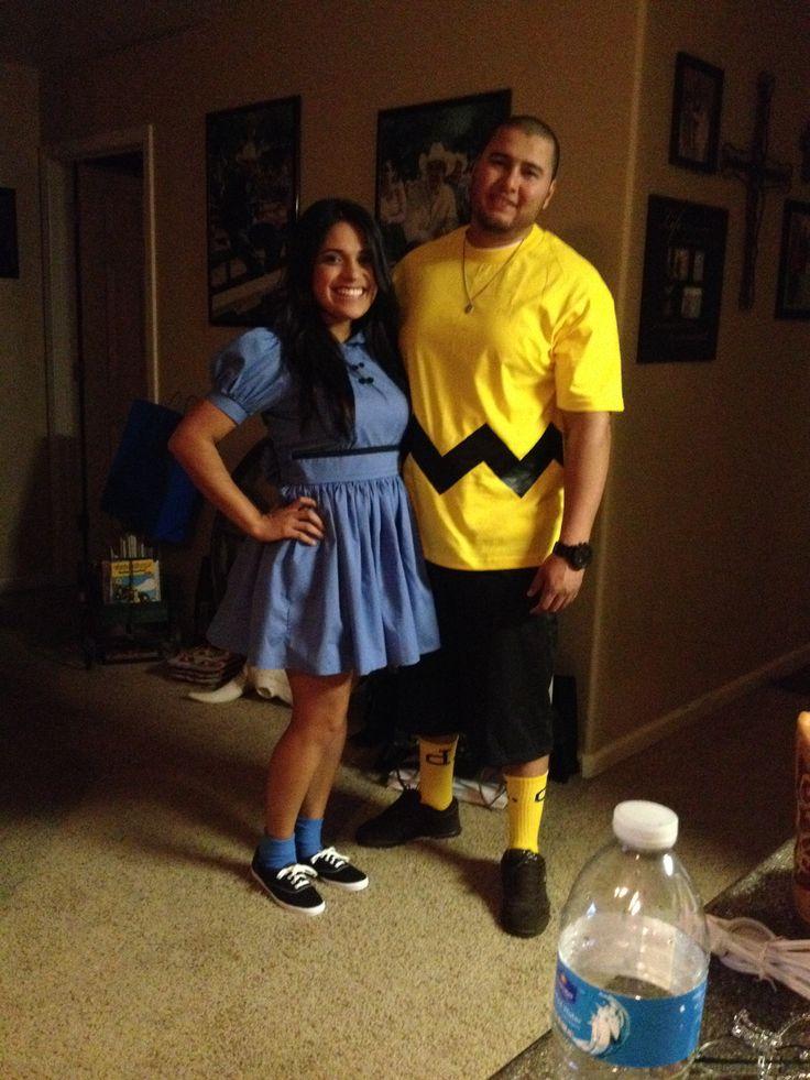 Charlie Brown & Lucy Van Pelt costumes :)