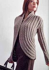Cabled Cardigan by Berta Karapetyan