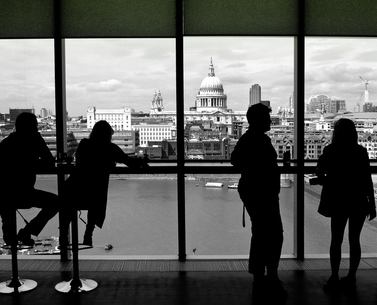 View from the Tate Cafe'