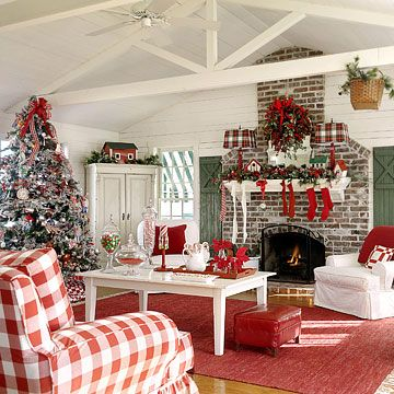 47 best images about Christmas Family Room on Pinterest