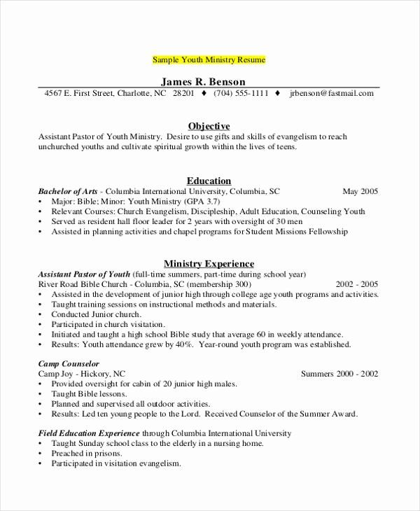 Camp Counselor Resume Description Awesome 9 Camp Counselor Resume Templates Pdf Doc Camp Counselor Camp Counselor Job Description Counselor Job Description