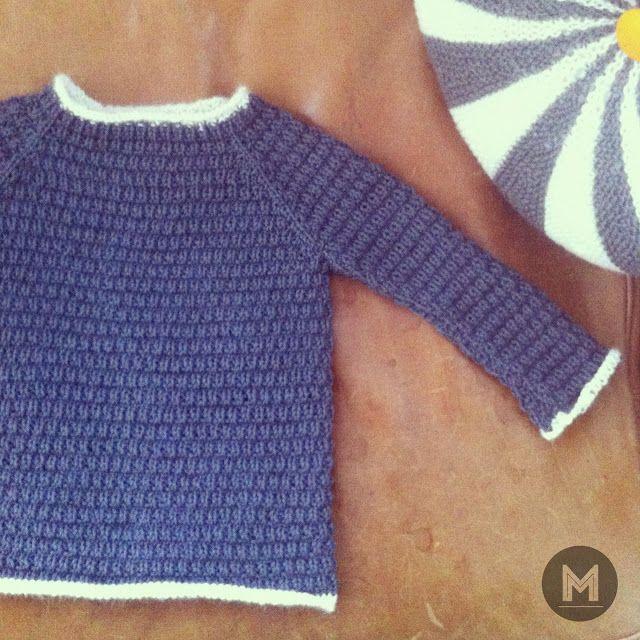 Meraki - strikket efterårstrøje, opskrift fra Lene Holme Samsøe