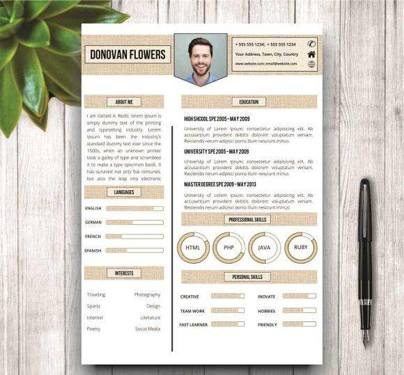 The 25+ best Unique resume ideas on Pinterest Resume ideas - original resume templates