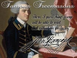 Famous Freemasons: Bro. John Hancock