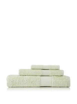Nine Space Pima Cotton Towel Set (Celery)