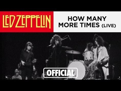 Led Zeppelin - How Many More Times - Danmarks Radio 3-17-69 - YouTube