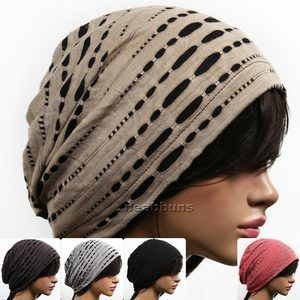 Unisex Chic Summer Beanie for Men Women Slouchy Top Hats Skull Best Cap New GM2   eBay