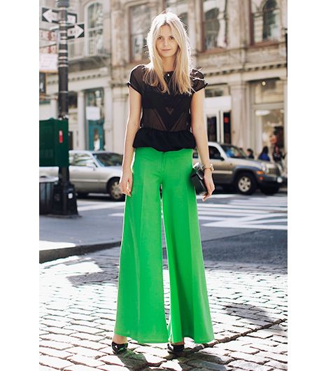 17 Best images about How To Wear: Wide Leg Trousers on Pinterest ...