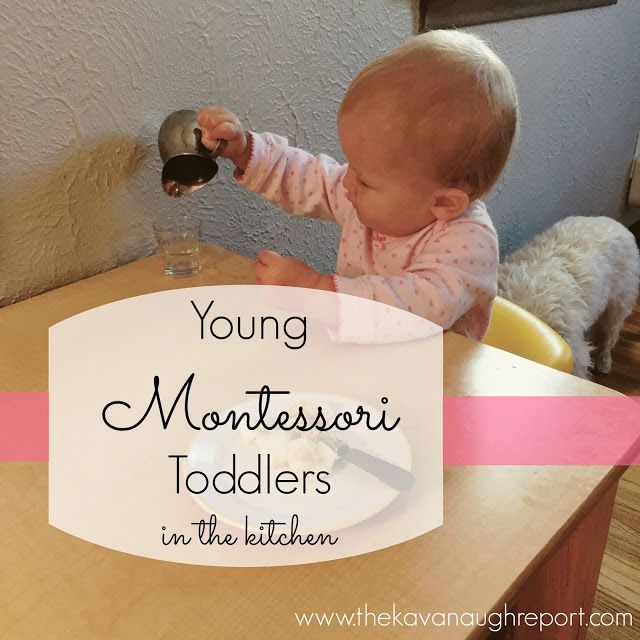 The Kavanaugh Report: Young Montessori Toddlers in the Kitchen