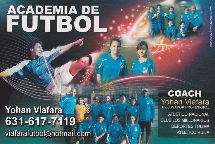 Academia de futbol ad