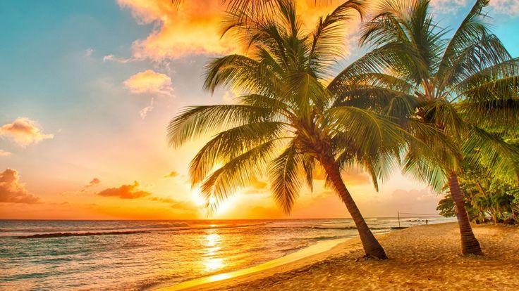 Barbados  ♥♥♥ Barbados dillere destan gün batımı ile ünlü..Romu ile meşhur olan bu güzel ada eski bir İngiliz kolonisi. Tüm dünyanın konuştuğu şarkıcı Rihanna'nın da doğduğu yer olarak adını fazlasıyla duyduğumuz Barbados'ta gündüzleri masmavi suların tadını çıkarabilir, batık dalışları yapabilir ve plaj partilerini katılabilirken; geceleri de kendinizi müziğin ritmine kaptırabilirsiniz..  ♥♥♥ Famous epic sunset to Barbados language