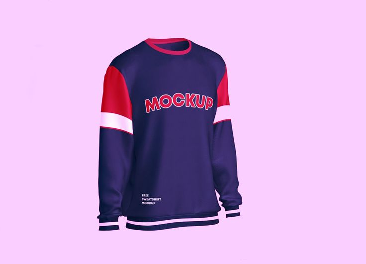 Free Sweatshirt Mockup In Photoshop Free T Shirt Design Sweatshirts Shirt Mockup