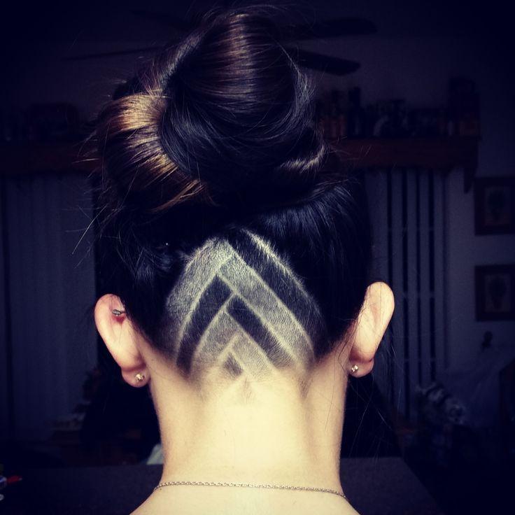 favorite triangle undercut design